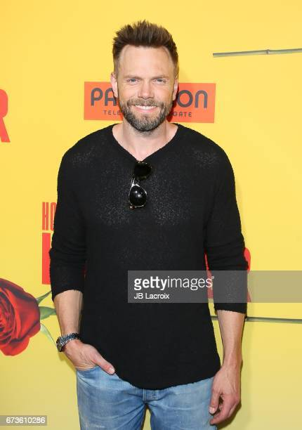Joel McHale attends the premiere of Pantelion Films' 'How To Be A Latin Lover' attends on April 26 2017 in Hollywood California