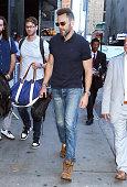 Celebrity Sightings In New York City - July 15, 2019
