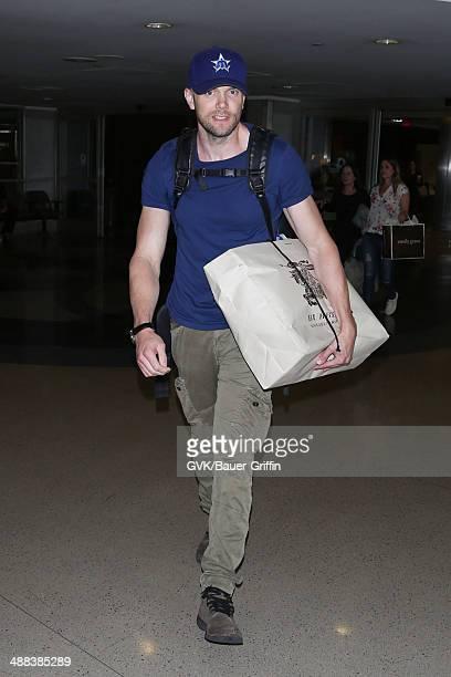 Joel McHale is seen on May 05 2014 in Los Angeles California