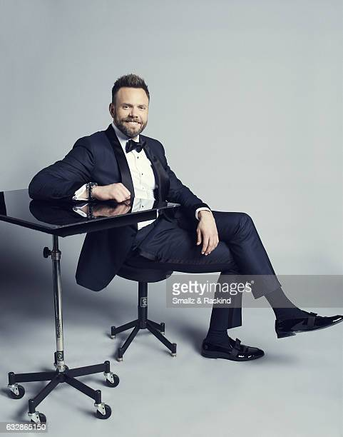 Joel McHale poses for a portrait at the 2017 People's Choice Awards at the Microsoft Theater on January 18 2017 in Los Angeles California