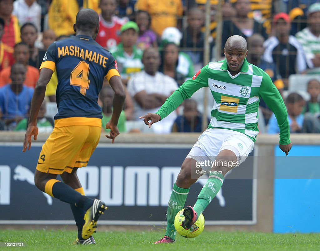 Joel Mogorosi during the Absa Premiership match between Bloemfontein Celtic and Kaizer Chiefs at FNB Stadium on March 31, 2013 in Johannesburg, South Africa.