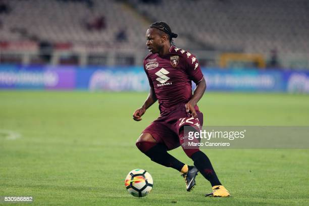 Joel Obi of Torino FC in action during the Italia Tim Cup match between Torino Fc and Trapani Calcio Torino Fc wins 71 over Trapani Calcio