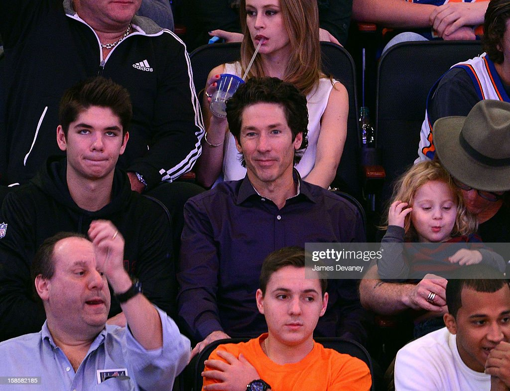 <a gi-track='captionPersonalityLinkClicked' href=/galleries/search?phrase=Joel+Osteen&family=editorial&specificpeople=714458 ng-click='$event.stopPropagation()'>Joel Osteen</a> attends the Brooklyn Nets vs New York Knicks game at Madison Square Garden on December 19, 2012 in New York City.
