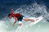 Joel Parkinson of Australia surfs during Round 1 Heats at the Oi Rio Pro on May 12 2015 in Rio de Janeiro Brazil