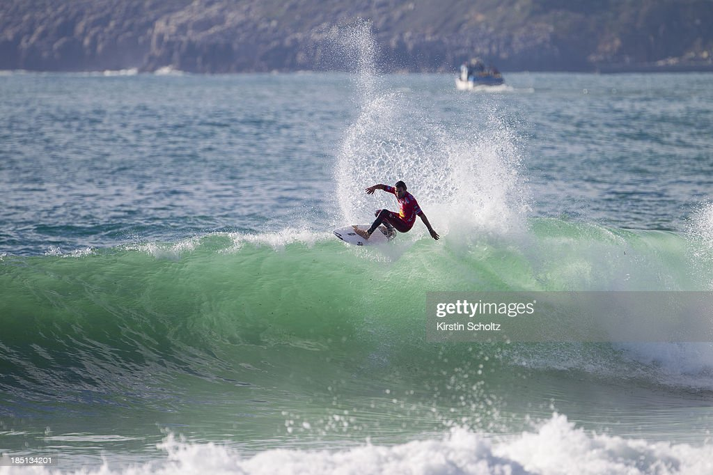 <a gi-track='captionPersonalityLinkClicked' href=/galleries/search?phrase=Joel+Parkinson&family=editorial&specificpeople=234875 ng-click='$event.stopPropagation()'>Joel Parkinson</a> of Australia surfs to an equal third place on October 17, 2013 in Peniche, Portugal.