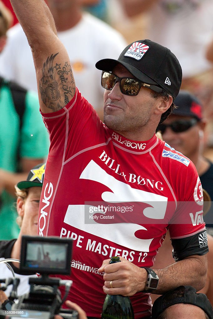 Joel Parkinson of Australia was crowned the ASP World Champion and won the Billabong Pipe Masters at Pipeline on December 14, 2012 in North Shore, United States.