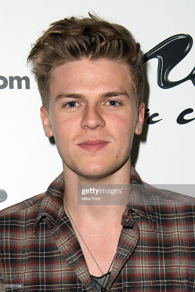 <a gi-track='captionPersonalityLinkClicked' href=/galleries/search?phrase=Joel+Peat&family=editorial&specificpeople=7078660 ng-click='$event.stopPropagation()'>Joel Peat</a> of Lawson visits Music Choice on August 22, 2013 in New York City.