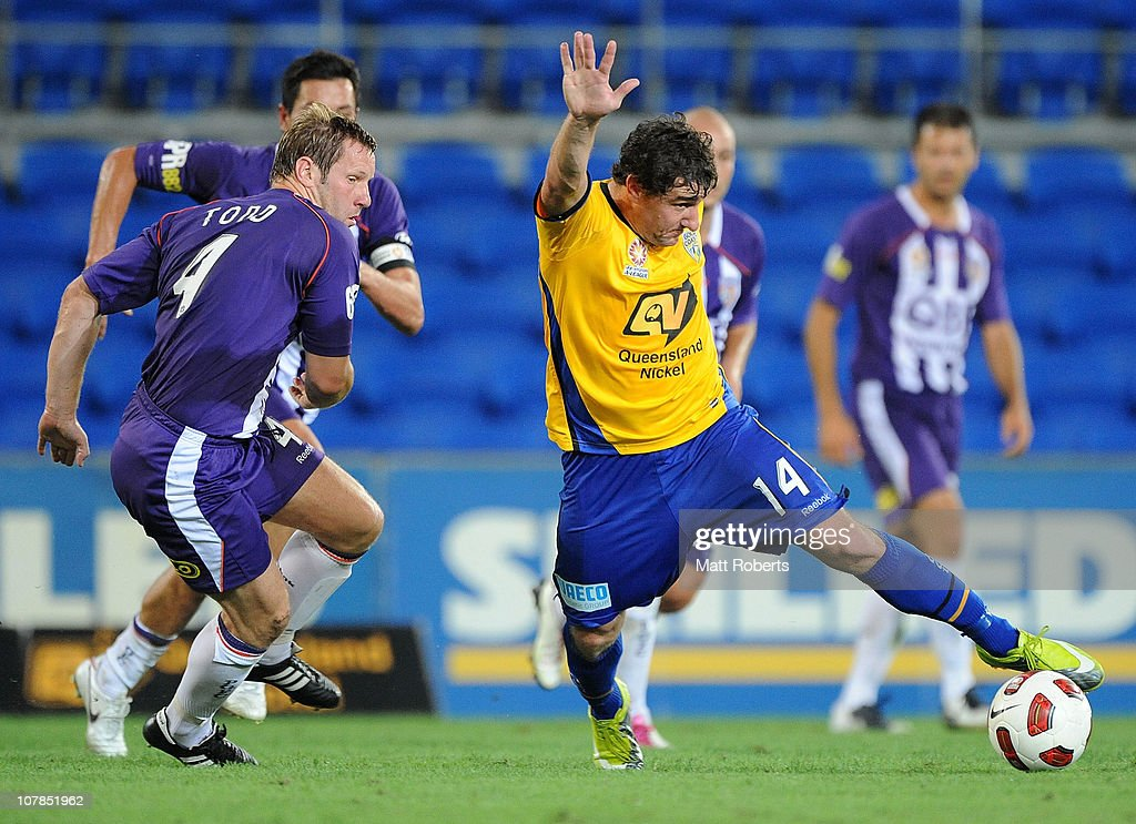 A-League Rd 21 - Gold Coast v Glory