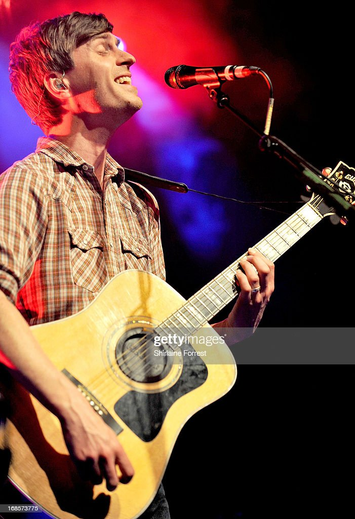 <a gi-track='captionPersonalityLinkClicked' href=/galleries/search?phrase=Joel+Pott&family=editorial&specificpeople=217765 ng-click='$event.stopPropagation()'>Joel Pott</a> of Athelete performs at The Ritz, Manchester on May 11, 2013 in Manchester, England.