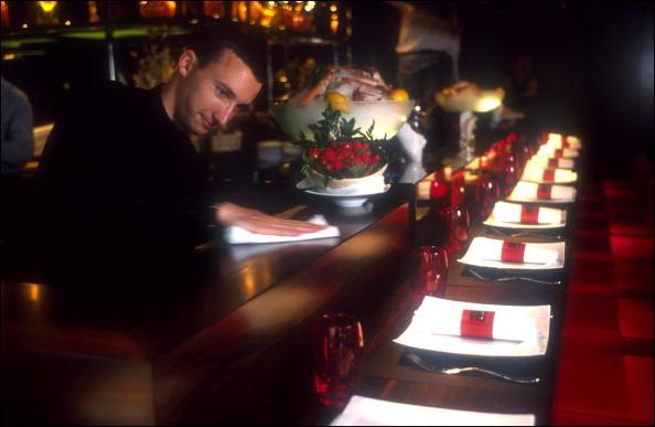 Jo l robuchon stock photos and pictures getty images - Atelier cuisine paris ...