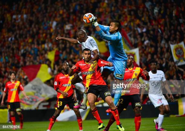 Joel SAMI / Alphonse AREOLA / Ahmed KANTARI Lens / Nancy 34eme journee de Ligue 1 Photo Dave Winter / Icon Sport