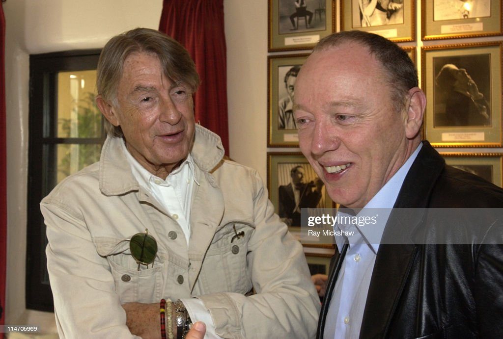 Joel Schumacher and Terry George during 20th Annual Santa Barbara International Film Festival 'Directors on Directing' Panel at Lobero Theatre in...