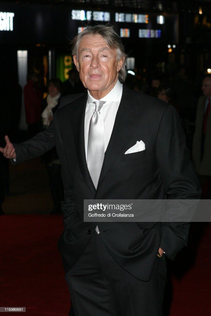 Joel Schumacher during 'The Phantom of the Opera' London Premiere Arrivals at Leicester Square in London England Great Britain