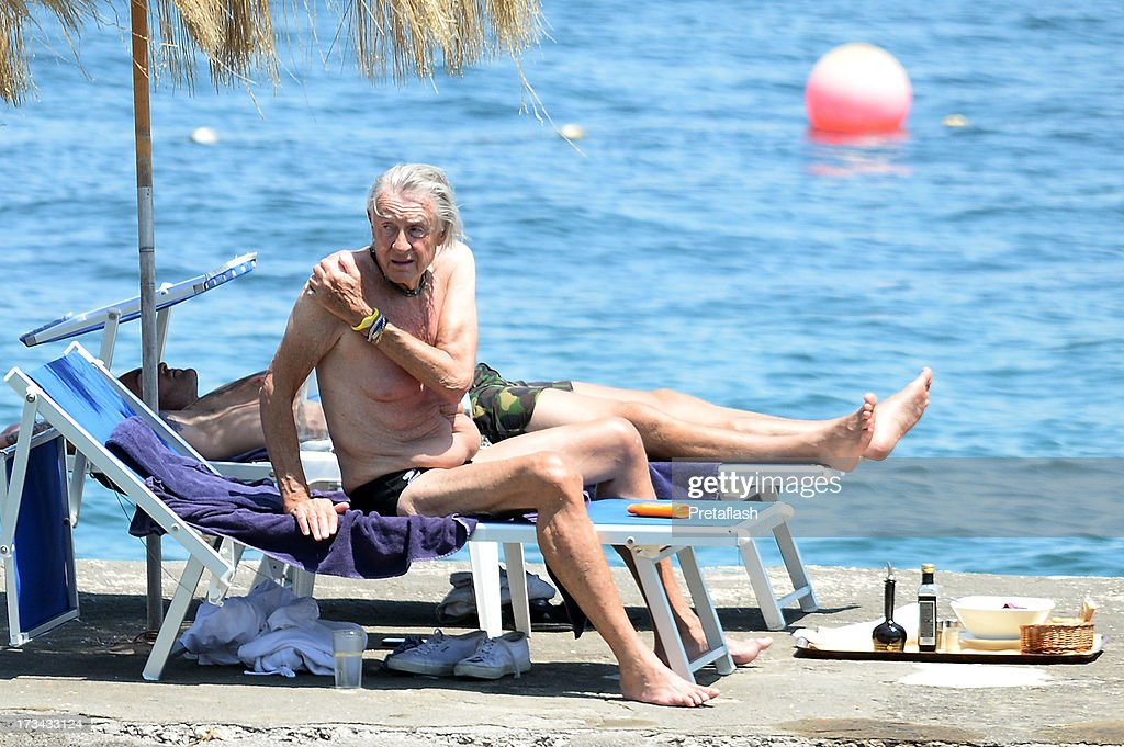 <a gi-track='captionPersonalityLinkClicked' href=/galleries/search?phrase=Joel+Schumacher&family=editorial&specificpeople=210507 ng-click='$event.stopPropagation()'>Joel Schumacher</a> is seen at the 2013 Ischia Global Fest on July 14, 2013 in Ischia, Italy.