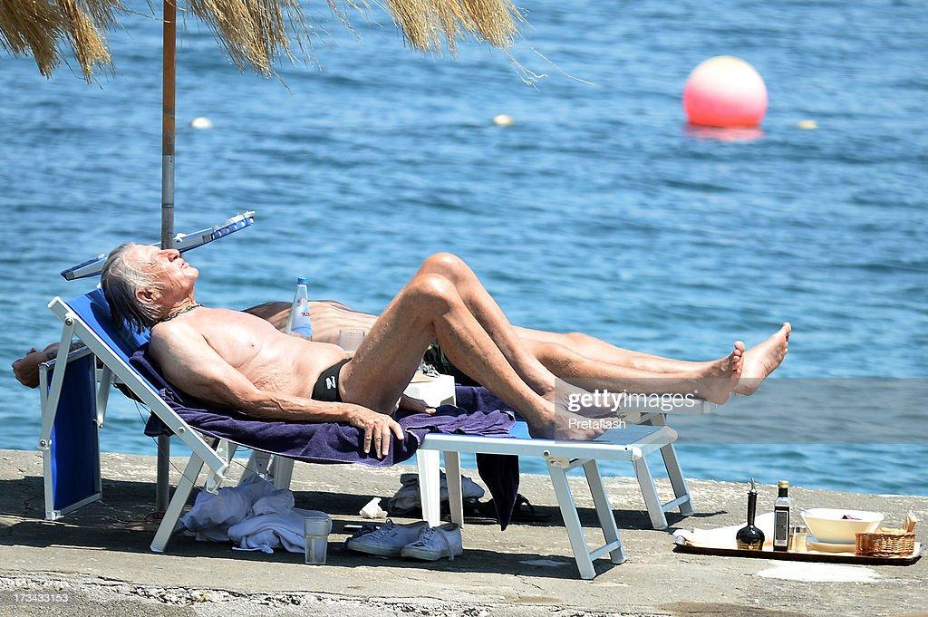 Joel Schumacher is seen at the 2013 Ischia Global Fest on July 14, 2013 in Ischia, Italy.