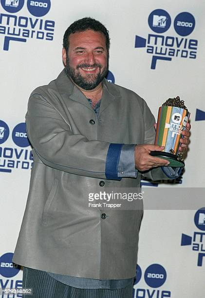 Joel Silver producer of 'The Matrix' with his award