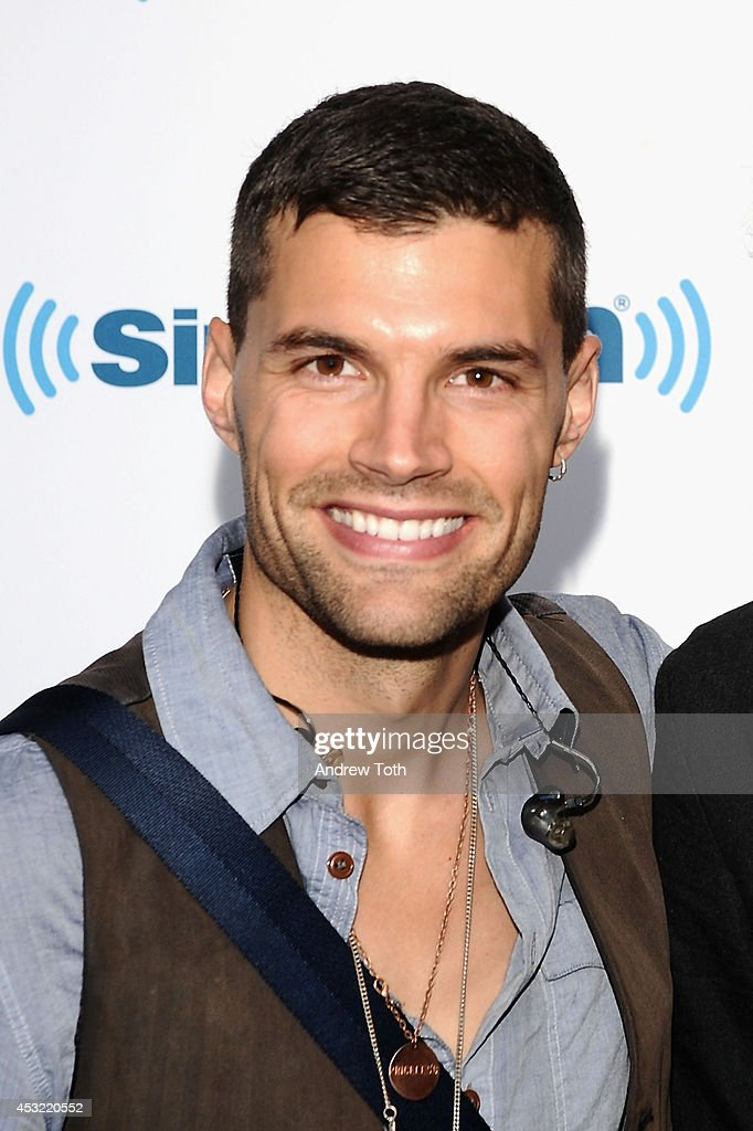 Joel Smallbone of band For King & Country visits SiriusXM Studios on August 5, 2014 in New York City.