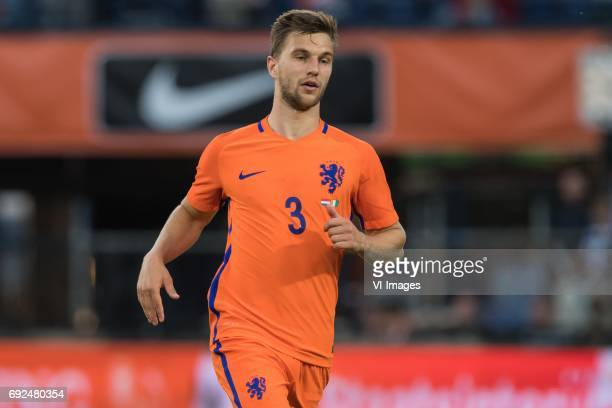 Joel Veltman of The Netherlandsduring the friendly match between The Netherlands and Ivory Coast at the Kuip on June 4 2017 in Rotterdam The...