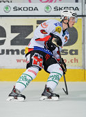 Joel Vermin during a National League A game in Porza Switzerland