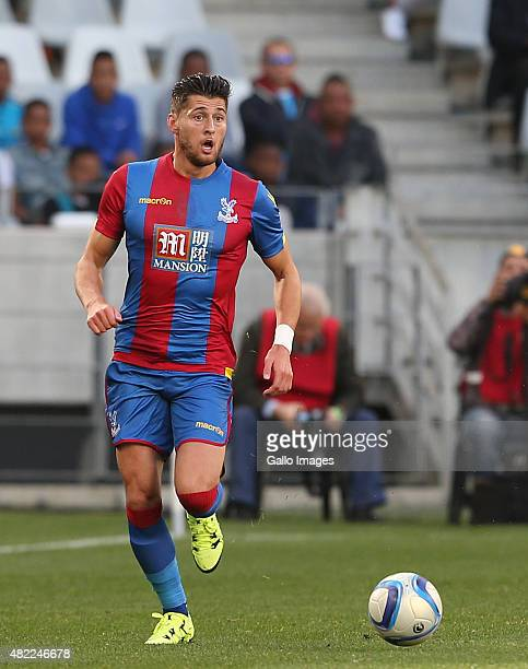 Joel Ward of Crystal Palace during the 2015 Cape Town Cup Final match between Crystal Palace FC and Sporting Lisbon at Cape Town Stadium on July 26...