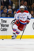 Joel Ward of the Washington Capitals skates against the New York Rangers in Game One of the Eastern Conference Semifinals during the 2015 NHL Stanley...