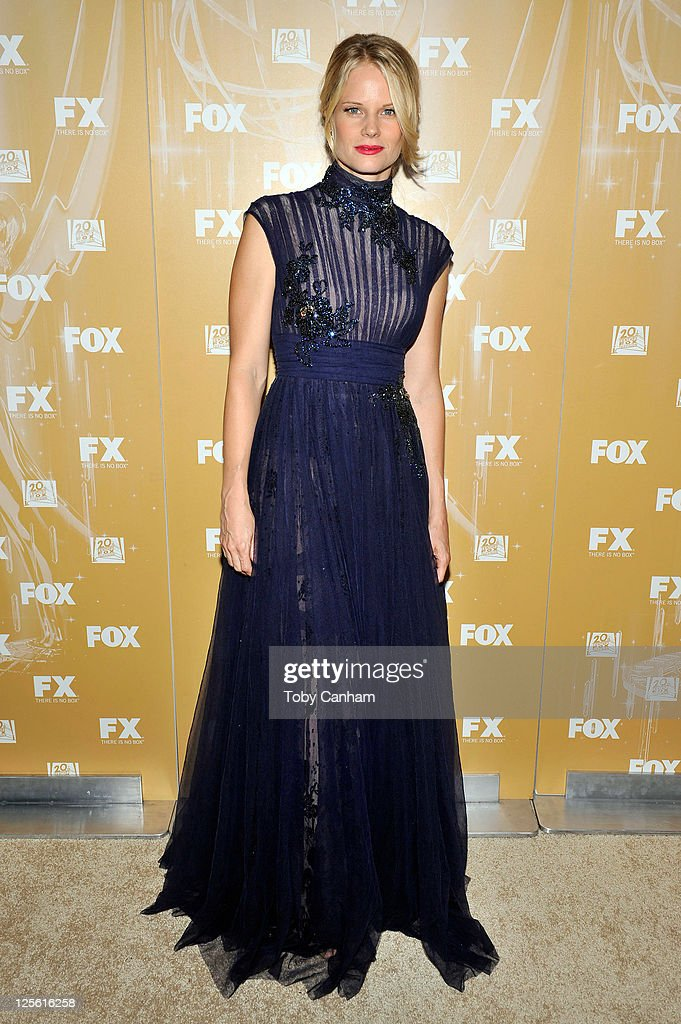 Joelle Carter arrives for the Fox Broadcasting Company, Twentieth Century Fox Television And FX 2011 Emmy after party on September 18, 2011 in West Hollywood, California.