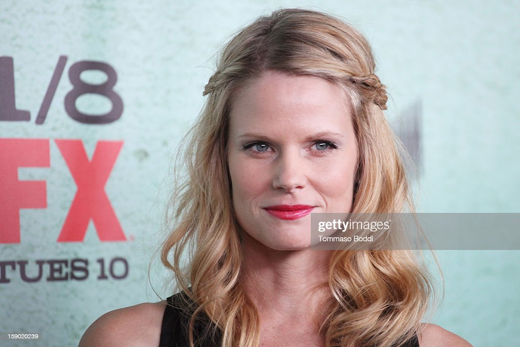 Joelle Carter attends the FX's 'Justified' season 4 premiere held at Paramount Theater on the Paramount Studios lot on January 5, 2013 in Hollywood, California.