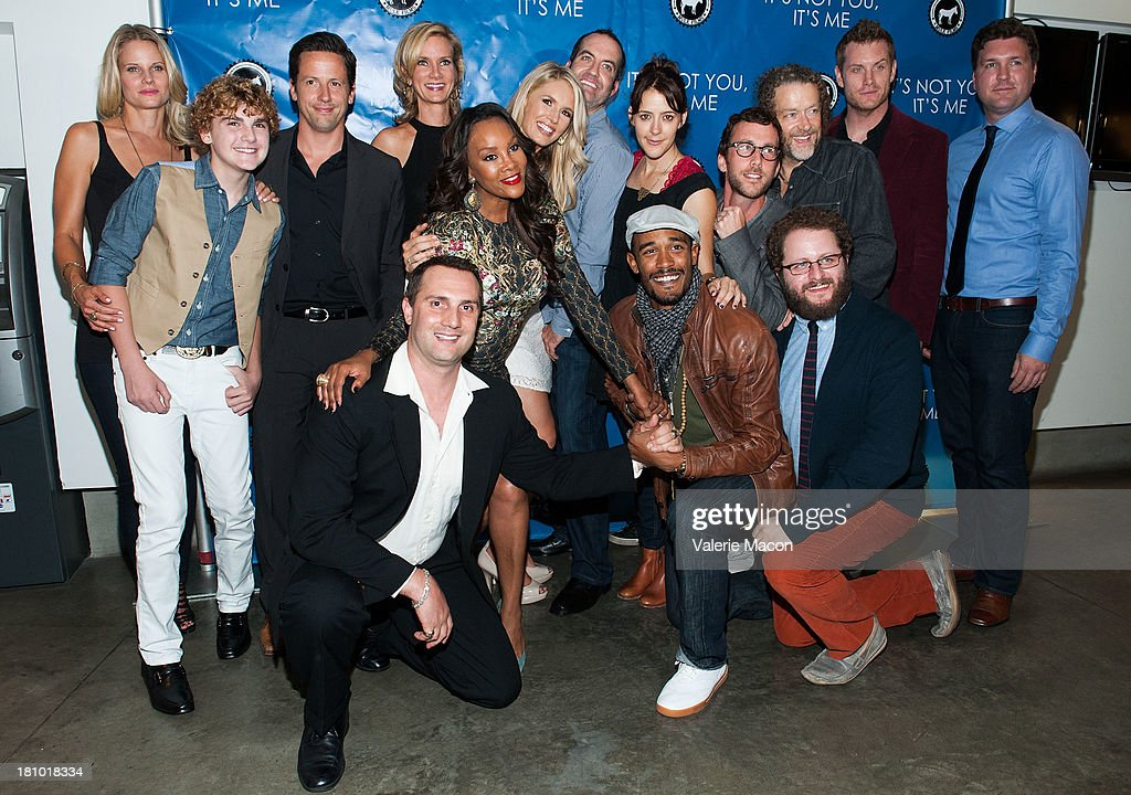 Joelle Carter, Jake Eliott, Ross McCall, Beth Littleford, Mark Heidelberger, Vivica A. Fox, Jessica York, Nathan Ives, Abby Miller, Ary Katz, Ryan Churchill, Daniel Bemson, Darin Heames, Gabriel Voss and Lawrence Long arrives at the premiere of 'It's Not You, It's Me' at Downtown Independent Theatre on September 18, 2013 in Los Angeles, California.