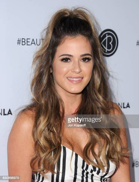 Joelle Fletcher arrives at the 5th Annual Beautycon Festival Los Angeles at Los Angeles Convention Center on August 12 2017 in Los Angeles California