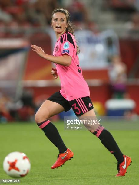 Joelle Murray of Scotland women during the UEFA WEURO 2017 Group D group stage match between England and Scotland at the Galgenwaard Stadium on July...