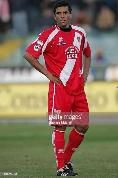 Joelson Iniacio Jose of US Grosseto Calcio looks during the Serie B match between Grosseto and Salernitana at Stadio Olimpico on November 21 2009 in...