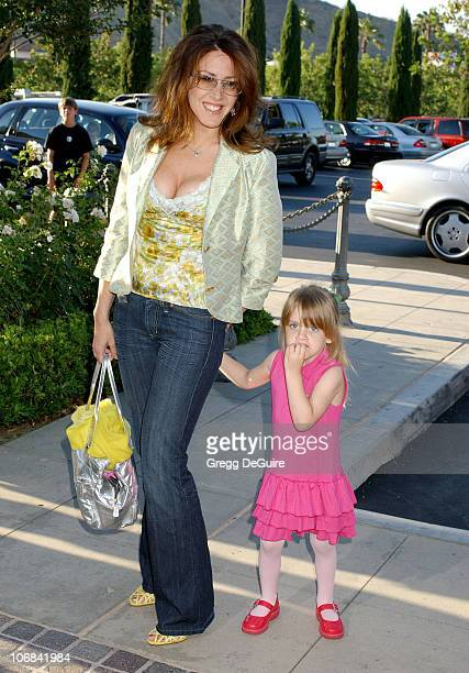 Joely Fisher and daughter Skylar during Lisa Rinna and Harry Hamlin Celebrate the Opening of the Second 'belle gray' Boutique Arrivals at belle gray...