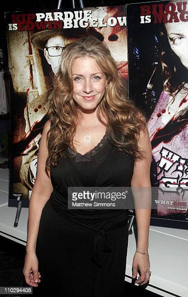 Joely Fisher during 2007 Los Angeles Film Festival 'Wizard of Gore' After Party at W Los Angeles in Los Angeles California United States