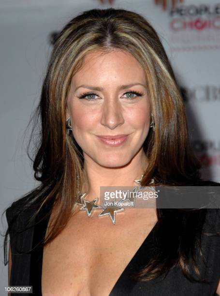 Joely Fisher during 33rd Annual People's Choice Awards Arrivals at Shrine Auditorium in Los Angeles California United States