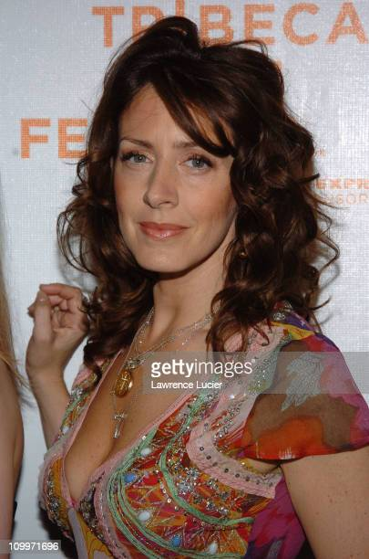 Joely Fisher during 4th Annual Tribeca Film Festival Slingshot Premiere Arrivals at Stuyvesant High School in New York City New York United States