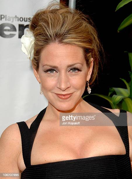 Joely Fisher during 5th Annual Backstage At The Geffen Gala Arrivals at Warner Bros Lot in Westwood California United States