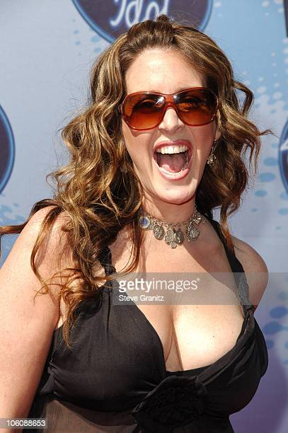 Joely Fisher during 'American Idol' Season 5 Finale Arrivals at Kodak Theater in Hollywood California United States