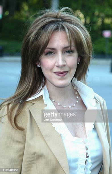 Joely Fisher during CBS Television 20022003 Upfront Party at Tavern On the Green in New York City New York United States
