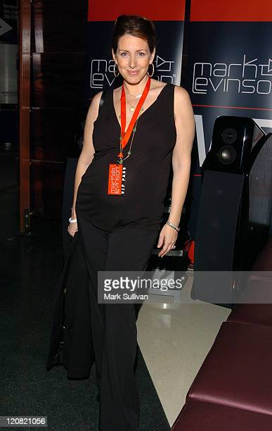 Joely Fisher during Mark Levinson PrePaul McCartney Concert VIP Suite November 29 2005 at Staples Center in Los Angeles California United States