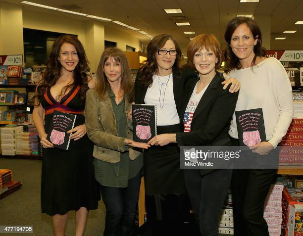 Joely Fisher Laraine Newman Annabelle Gurwitch Frances Fisher and Annabeth Gish attend the Annabelle Gurwitch book signing for 'I See You Made An...