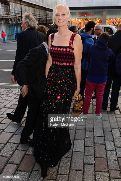 Joely Richardson arrives to the Royal Academy Summer Exhibition Preview Party on June 4 2014 in London England