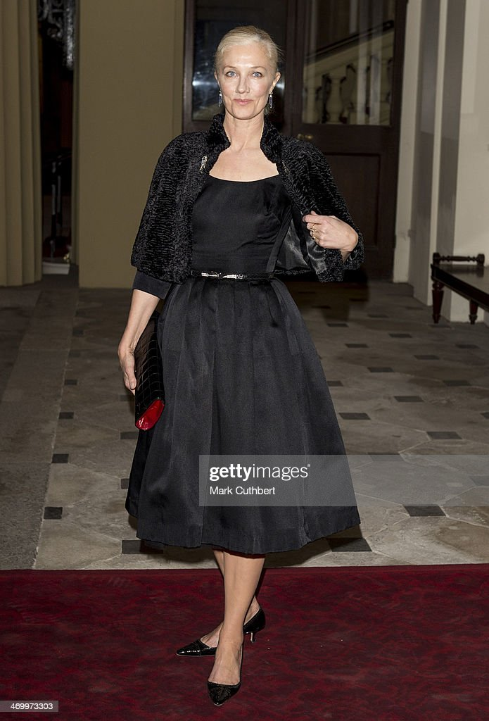 <a gi-track='captionPersonalityLinkClicked' href=/galleries/search?phrase=Joely+Richardson&family=editorial&specificpeople=201859 ng-click='$event.stopPropagation()'>Joely Richardson</a> attends a Dramatic Arts Reception at Buckingham Palace on February 17, 2014 in London, England.