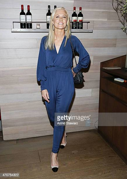 Joely Richardson attends Lionsgate Roadside attractions after party for the Tribeca Film Festival world premiere of 'Maggie' at Tutto II Giorno on...