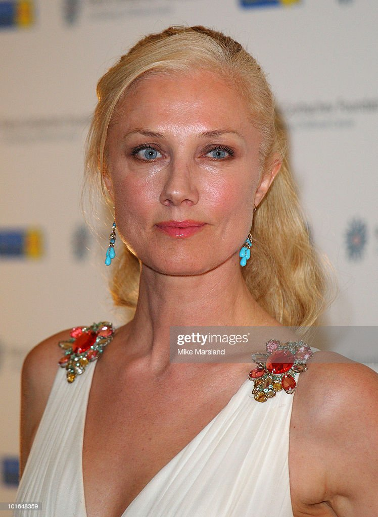 Joely Richardson attends the annual Raisa Gorbachev Foundation Party at Stud House, Hampton Court on June 5, 2010 in London, England.