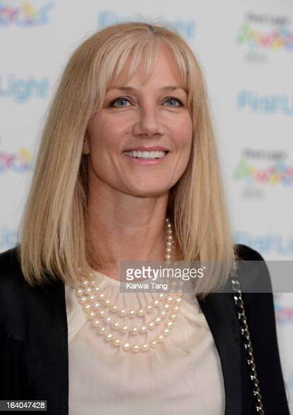 Joely Richardson attends the First Light Awards at Odeon Leicester Square on March 19 2013 in London England