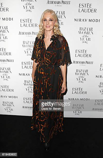 Joely Richardson attends the Harper's Bazaar Women of the Year Awards 2016 at Claridge's Hotel on October 31 2016 in London England