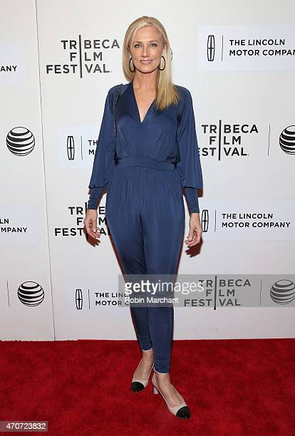Joely Richardson attends the premiere of 'Maggie' during the 2015 Tribeca Film Festival at BMCC Tribeca PAC on April 22 2015 in New York City