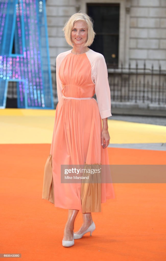 Joely Richardson attends the preview party for the Royal Academy Summer Exhibition at Royal Academy of Arts on June 7, 2017 in London, England.