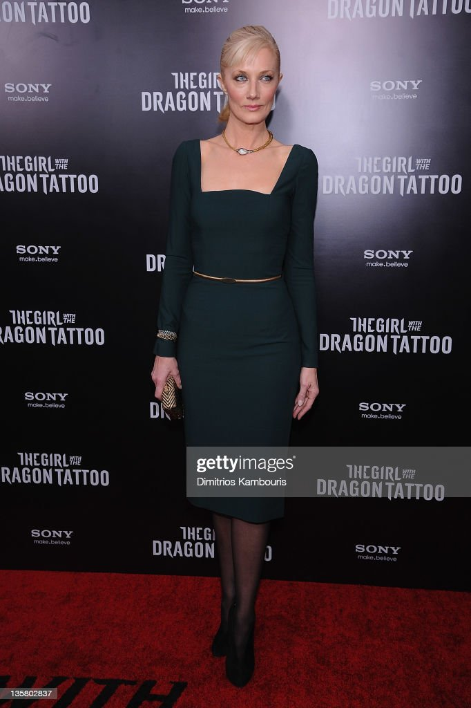 Joely Richardson attends the 'The Girl With the Dragon Tattoo' New York premiere at Ziegfeld Theater on December 14, 2011 in New York City.