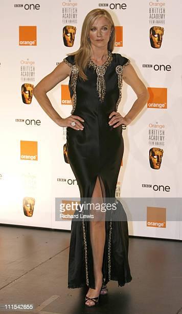 Joely Richardson during The Orange British Academy Film Awards 2007 Press Room at Royal Opera House in London United Kingdom